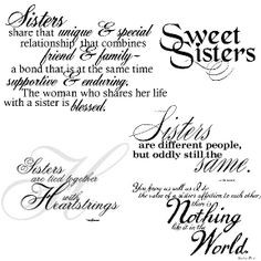 ... sisters quotes printables sisters sentimental birthday sisters image