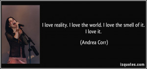 More Andrea Corr Quotes