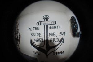 achor, cute, fish eye, photography, quotes - inspiring picture on ...