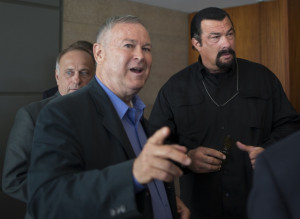 Congressman Arm Wrestled Putin:
