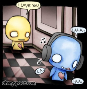 cute emo love Image
