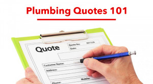 Plumbing Quotes 101