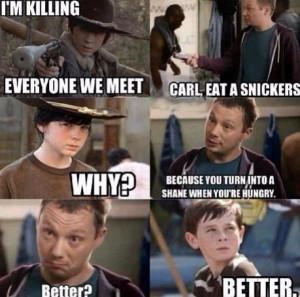 Carl Grimes Memes