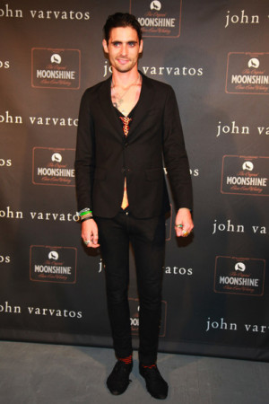 Tyson Ritter attends the John Varvatos 10th Anniversary Party at John ...