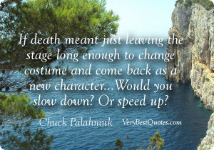 Death quotes: 84 Best quotes about death