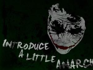 batman quotes the joker typography anarchy paint splatter 1680x1050 ...