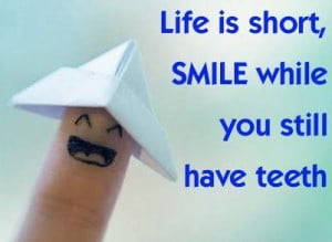 in my head i love quotes about smiling especially on days like mondays ...