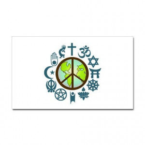 Coexist World Peace Decal