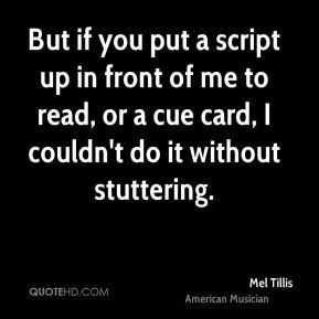 Stuttering Quotes