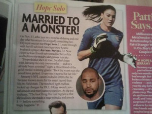 Hope Solo; All things Hope all the time