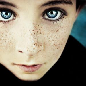 blue, blue eyes, cute, eyes, face, freckles, ginger, girl, gorgeous ...
