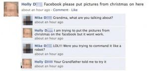Funny Grandma Facebook Status Fail ~ Motivational funny pictures love ...