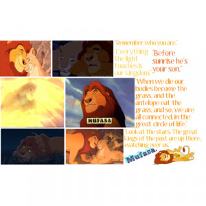 Lion King Quotes Mufasa