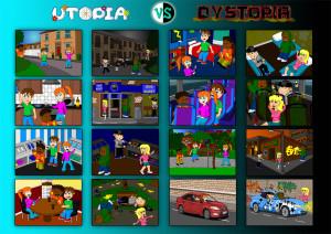 Utopia-Dystopia Image Board by 0parkp