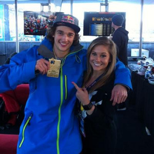 Nick Goepper and Shawn Johnson?