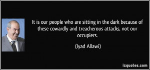 More Iyad Allawi Quotes