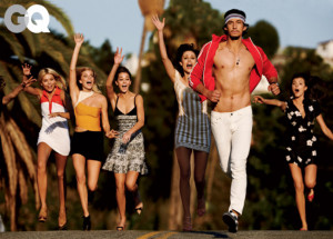 Adam Driver, the male star of HBO's Emmy-nominated comedy Girls , is ...