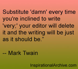 Substitute damn every time, Quotes