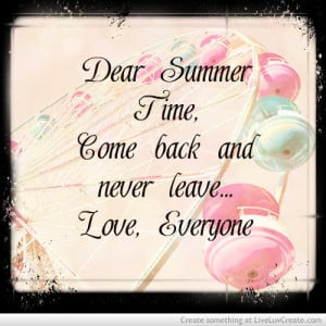 Cute Summer Quotes...