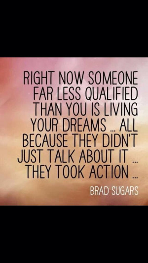 Great quote about passion success dreaming and believing. Tired of ...