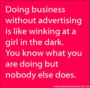 quote about advertising