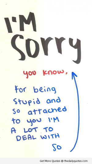 ... heartfelt apologies i am truly sorry apology for lover cute you know