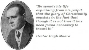 Hector hugh munro quotes 1
