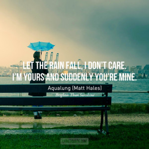 ... Aqualung (Matt Hales)Photo credit / Quote credit / Submit yours here