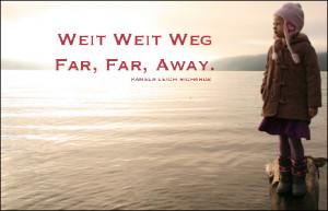 Sea Girl Far Far Away Quote