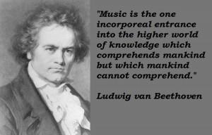 Ludwig van beethoven quotes 1