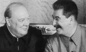 Churchill, Stalin Got Super Drunk Together During World War 2