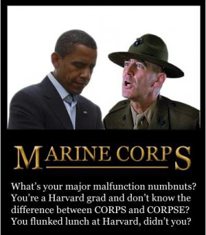 Gunnery Sgt. Hartman Responds to Obama's Inability to Say 'Corps ...