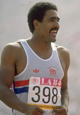 Daley Thompson thinks the Irish are a bit thick