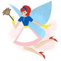 Fairy Godmother Domestic Cleaning Service's Logo
