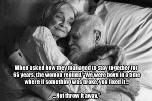 Growing Old: Love and Staying Together!!