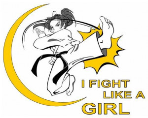 All Graphics » girl karate
