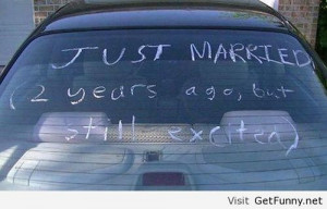Just married, I don't believe you - Funny Pictures, Funny Quotes ...