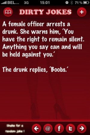 funny dirty one liners. Dirty Jokes Free. Also see .