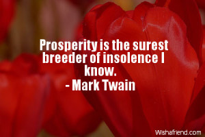 quotes about prosperity