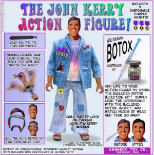 John Kerry Action Figure