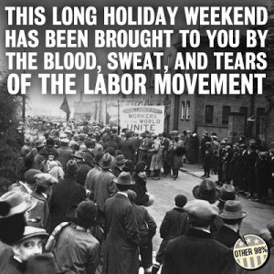... to you by the labour movement child labour laws 8 hour work days