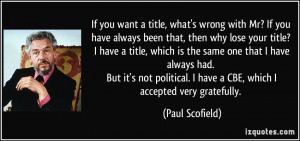 If you want a title, what's wrong with Mr? If you have always been ...