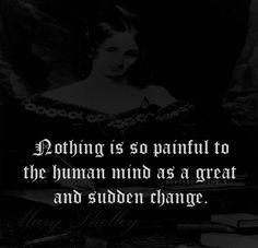 Mary Shelley, Frankenstein . Chapter 23 Happy Birthday 08/30/1797 ...