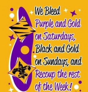 LSU/Saint Fans. I so need this for a friend!