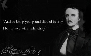 Quotes 6, A picture with a Edgar Allan Poe along with a quote. Edgar ...