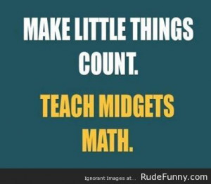 Making little things count