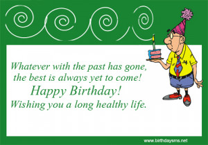 Birthday Quotes for Old People