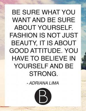Adriana Lima #quote