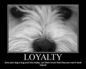 ... Today Let Them Know That They Are Man's Best Friend - Dogs Quote