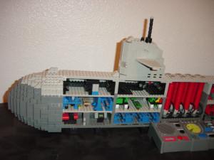 Lego Submarine Image